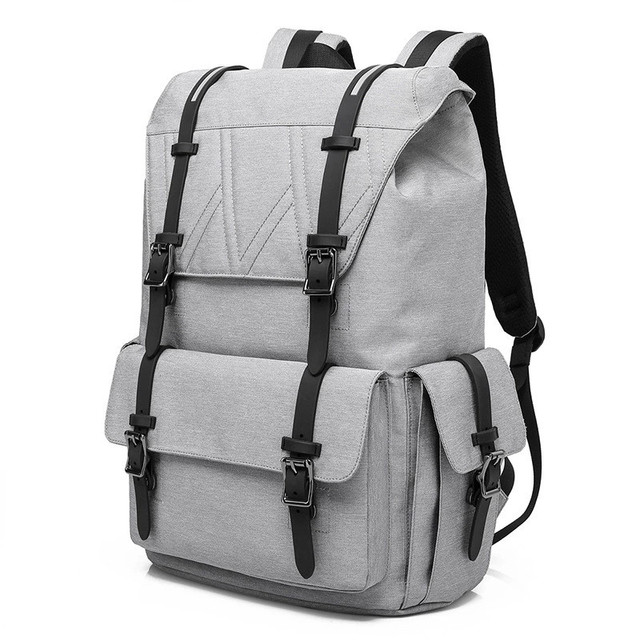 "15.6"" Laptop Backpack Men Large capacity Backpack student Travel Bag School Computer Fashion Backpack  Leisure Style Oxford"