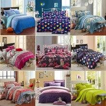 UNIHOME Promoción CALIENTE! envío Gratis Impresión Reactiva del Lecho duvet cover set ropa de cama Hoja de Cama