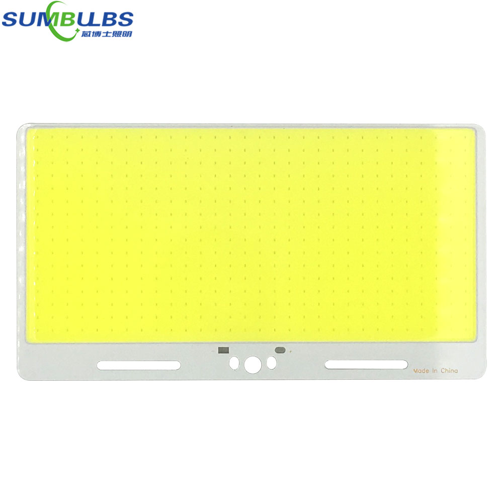 220*120mm Ultra Bright 12V COB LED Panel Light 200W Chip On Baord 6500K Cold White Color DC12V LED Lamp for DIY Decor Car Bulbs square 8w 800lm 6500k cob led white light lamp silver yellow 25 28v