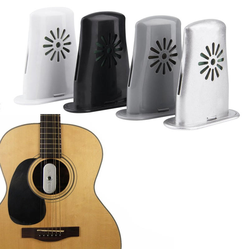 New Plastic Mini Guitar Sound Holes Humidifier Air Diffuser Moisture Reservoir Useful Guitar Moisturizing Supplies Portable