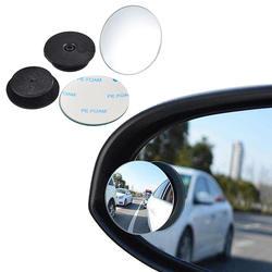 NICECNC 360 градусов Универсальный слепое пятно зеркало для автомобиля горячая Распродажа Безрамное ультратонкие широкий формат круглый