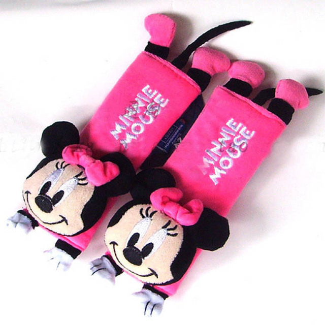 Sale Wholesale Retail NEW Minnie Mouse Baby Car Shoulder Pad Seat Belt Cover