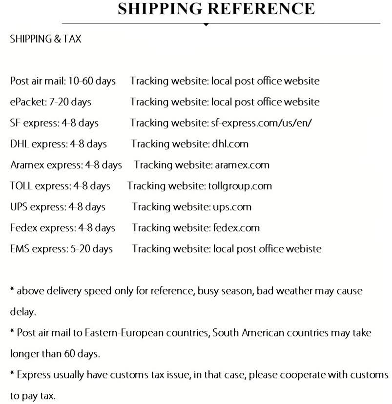 shippingtimeandtx