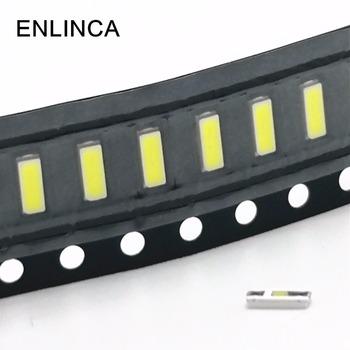 100 sztuk podświetlenie TV 3 V LED SMD 3014 4014 fajne zimne białe podświetlenie LCD do aplikacja telewizyjna 3000 K 4000 K 5500 K 6000 K 9000 K tanie i dobre opinie Nowy Do montażu powierzchniowego ENLINCA