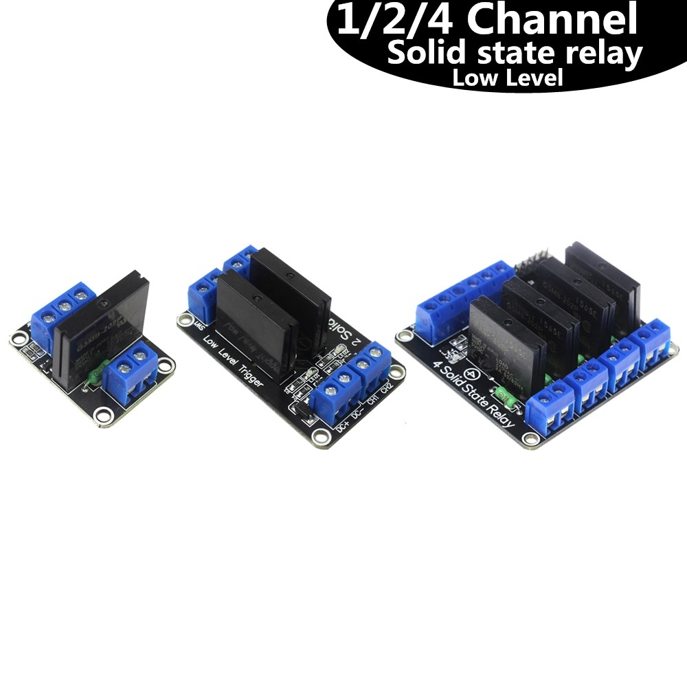 1 / 2 / 4 Channel Solid State Relay G3MB-202P DC-AC PCB SSR In 5VDC Out 240V AC 2A For Arduino