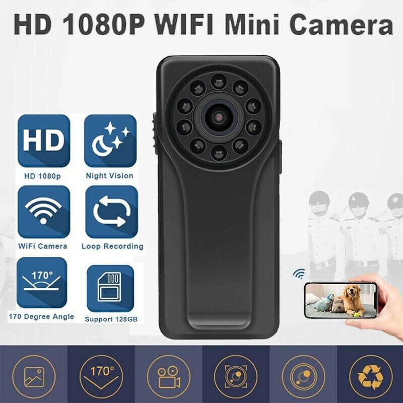A6 17 degree Mini DV Camera Full HD 1080P WiFi HiFi Night Vision Motion Detection Recorder|Mini Camcorders| |  - title=