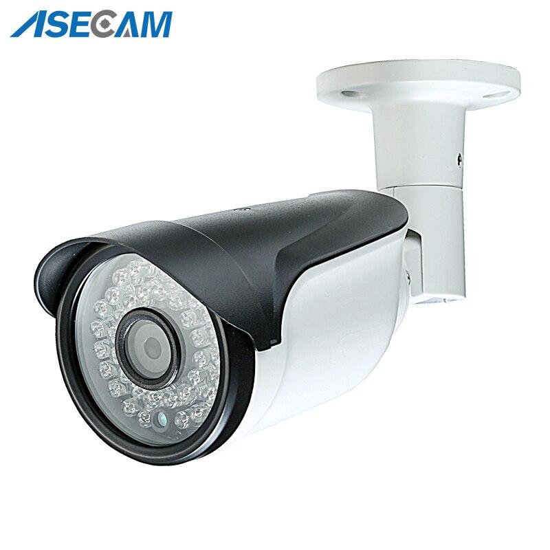 Super HD 4MP H.265 Caméra IP Onvif HI3516D Noir Bullet CCTV Étanche Extérieure PoE Réseau avec détection de Mouvement de Sécurité ipcam