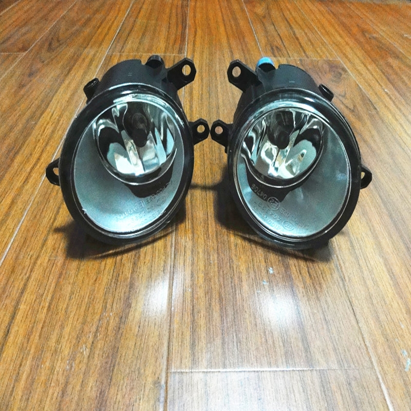 1 Pair Left & Right Front Bumper Driving Fog Lamps/Lights For Toyota Yaris Sedan 2006-2010 2pcs pair front lower bumper fog light fog lamps left
