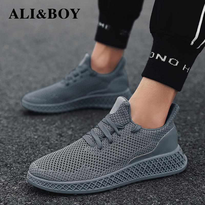 Men Sneakers Running Shoes Lightweight