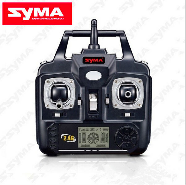 New Version SYMA Transmitter Remote Control for SYMA X5C X5 X5SC X5SW V6 Version RC Helicopter Drone Quadcopter Spare Parts new full set replacement spare parts for syma s107 rc helicopter red high qualtiybest seller