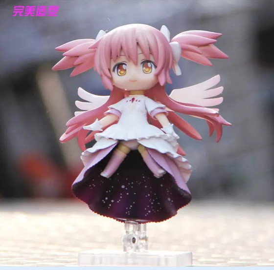 Image 2 - 12cm 4.8 inches Nendoroid Puella Magi Madoka Magica kaname madoka PVC Action Figure Collection Model Toy-in Action & Toy Figures from Toys & Hobbies