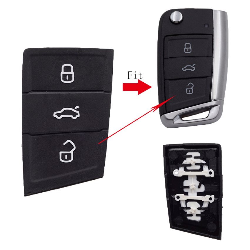 Cocolockey Car Key Pad For Golf mk7 gol key for skoda rapid /superb/yeti car key for seat /ibiza/altea/leon car Accessories