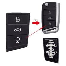 Cocolockey almofada chave do carro para golf mk7 gol chave para skoda rápida/superb/yeti chave do carro para seat /ibiza/altea/leon acessórios do carro