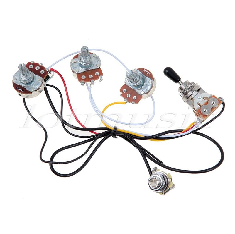 Aliexpress : Buy One Set of Electric Guitar Wiring