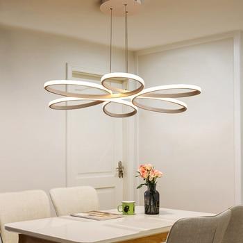 Modern LED pendant lights for living room bedroom Lamp modern led pendant lamp dimming home lighting luminarias AC90V-260V