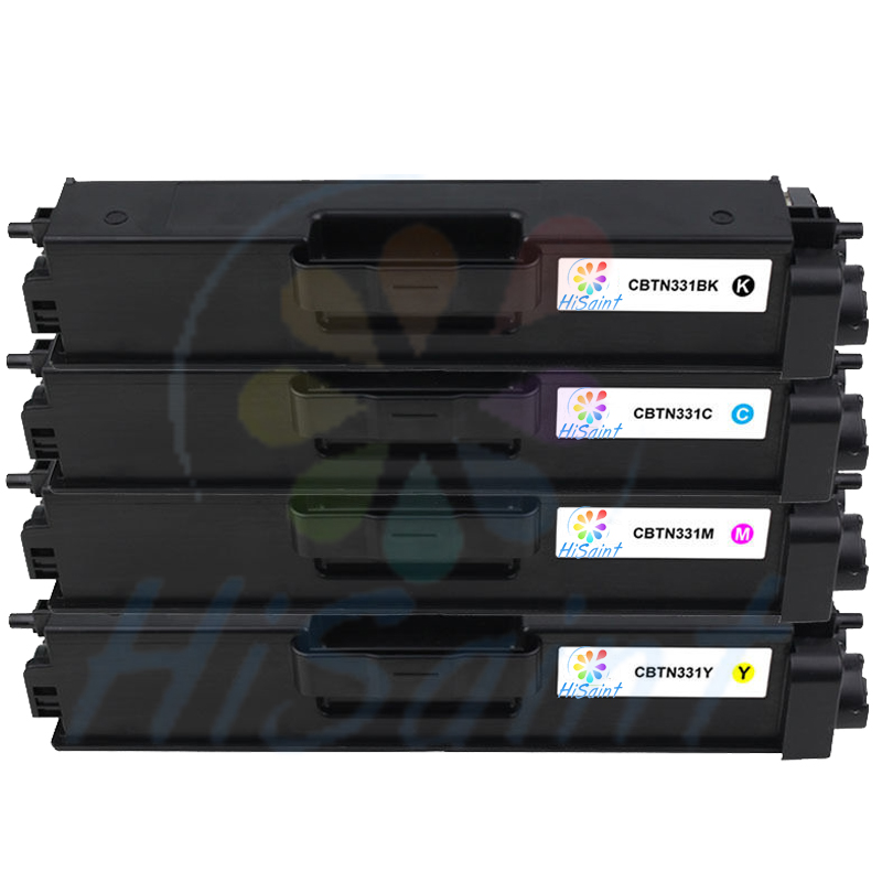 ФОТО 2015New [Hisaint]  TN-331 TN331 Black & Color Compatible Toner for Brother 8250 8350 8600 8850 [Free shipping]