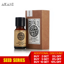 AKARZ Professional Plants seed Series top sale essential oils aromatic for aromatherapy diffusers face body skin care aroma oil