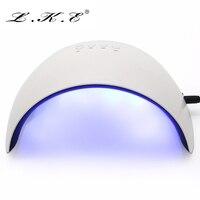 Mini Prego Secador 16 W UV Prego LED Lâmpadas de Sensor Inteligente 60's/90's/120's tempo de Configuração Da Máquina para a Cura de Unhas de Gel UV Da Arte Do Prego Com USB