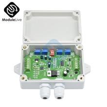 Tartı verici yük hücresi amplifikatör modülü ağırlık sensörü amplifikatör yük hücresi dönüştürücü DC 12V 24V 4-20ma