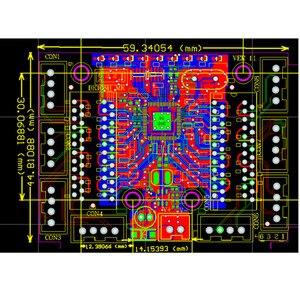 Image 5 - מיני מודול עיצוב ethernet מתג המעגלים עבור ethernet מתג מודול 10/100 mbps 5/8 יציאת PCBA לוח OEM האם