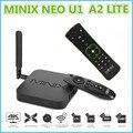 Minix neo u1 xbmc iptv caixa smart tv android amlogic 5.1.1 s905 Quad-core 2 GB 16 GB BT 4.1 2x2 MIMO Dual-band Wi-fi HD Med