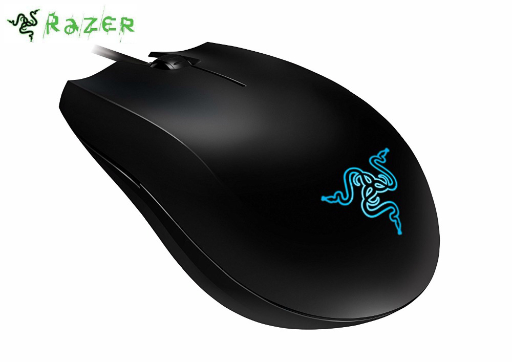 Razer Abyssus Gaming Mouse Optical PC Gamer USB Wired PC Gamer - 3500DPI 1000Hz Ultrapolling USB Wired For CSGO,Overwatch