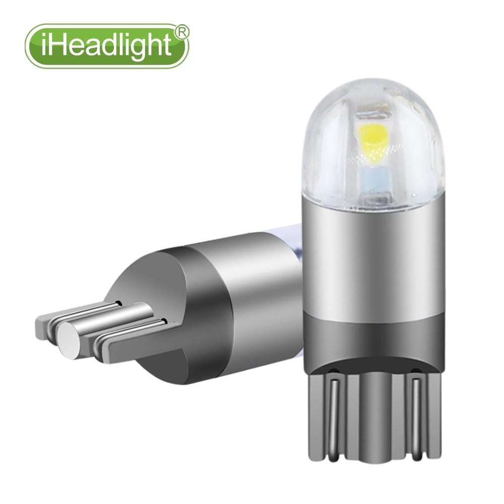 2pcs T10 LED 12v Car Turn Sinyal bilik lampu kereta membaca lampu - Lampu kereta - Foto 6