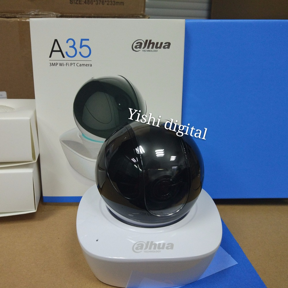 Dahua Built-in Mic & Speaker HD PT 3MP Wi-Fi Network Camera dahua baby monitor IPC-A35