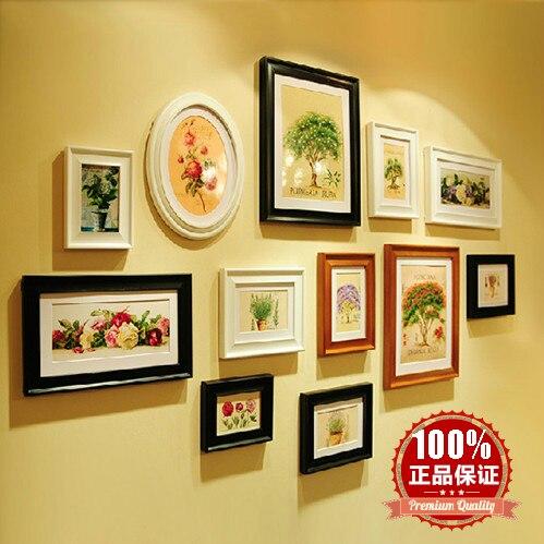 2013 boîte laine classique mode photo cadre combinaison fond mur décoration de la maison