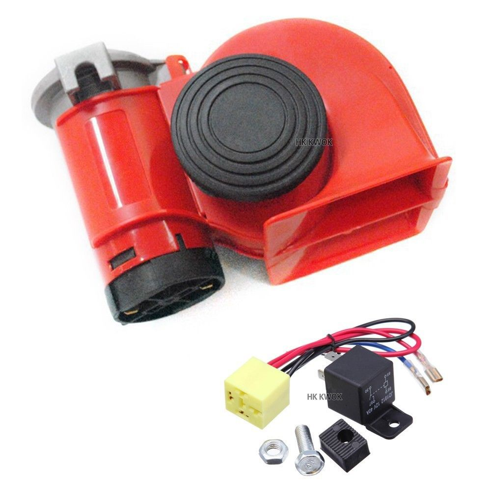 Car Truck Horn 12v Siren Loud Sound Dual Tone Compact Snail Electric Pump Air Free Shipping P50 In Speaker Bo From Automobiles Motorcycles On
