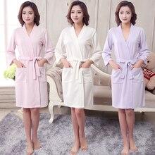 Nova toalha de verão feminina, roupão de dama de honra kimono roupão de banho sensual vestido de noiva casamento