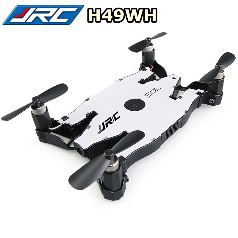JJRC H49WH H49 SOL RC Drone Mini Selfie Drones With Camera HD Wifi FPV Dron Quadcopter Altitude Hold One Key Return VS H37 H47 In Remote Control Toys From
