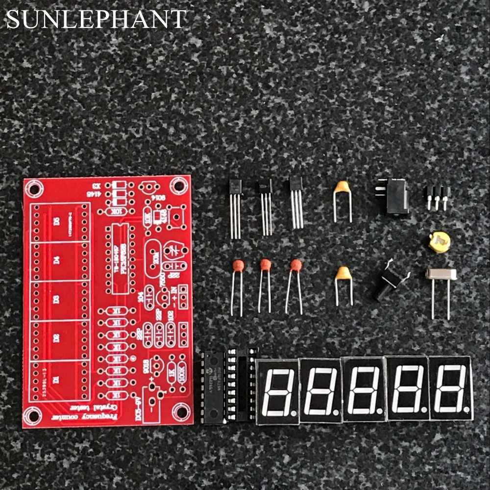 1Hz-50MHz مذبذب الكريستال اختبار عداد التردد لتقوم بها بنفسك عدة 5 أرقام