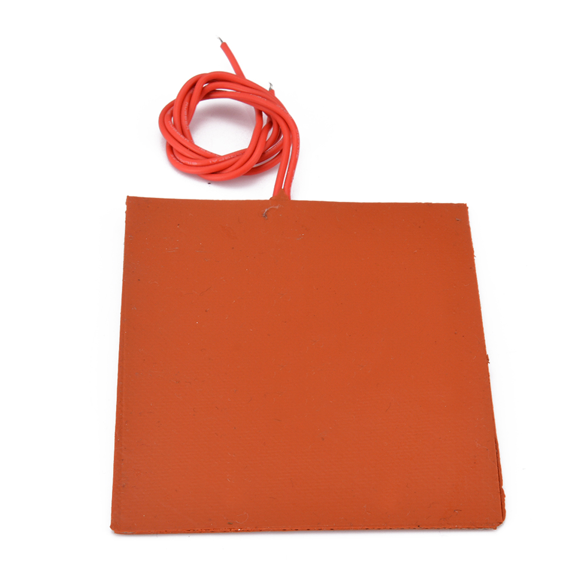 12V DC 20W Flexible Waterproof Silicone Heater Bed Pad For 3D Printer Heat Bed Electric Pads Red 80x100mm Mayitr
