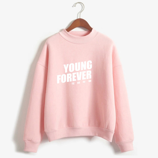 YOUNG FOREVER THEMED SWEATSHIRT (7 VARIAN)