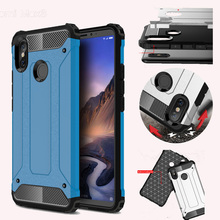 Luxury Shockproof Armor Phone Case For Xiaomi MI 8 Hybrid Soft Silicone 5X 6X F1 Max3 Redmi 6 6a S2 Note6 Note7 Capa