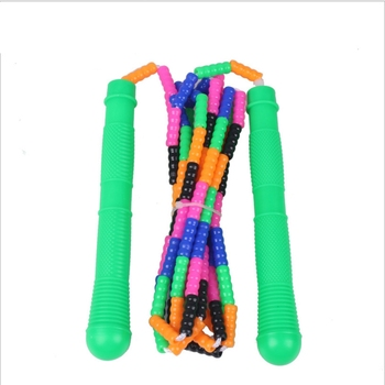 YINGTOUMAN Joint Rope Skipping Beads Rope Skipping Fancy Skipping Ropes Length Adjustable Jump Rope Crossfit Fitness Equipment skipping rope