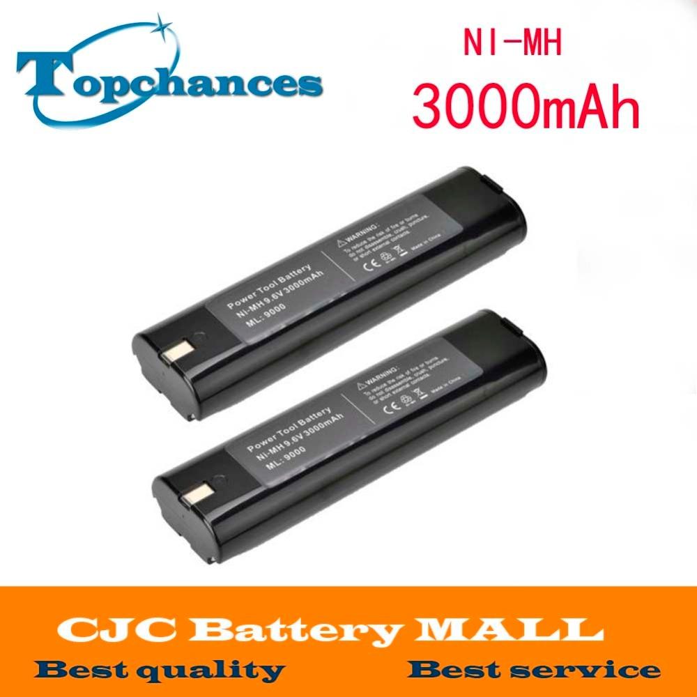 NEUF Batterie pour 9.6v 3.0ah Makita 9033 4093d 4190dwd