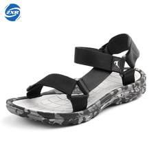 77e369bec7 Sandália de verão Dos Homens Do Esporte Ao Ar Livre Sapatos Montante de  Camuflagem de Praia