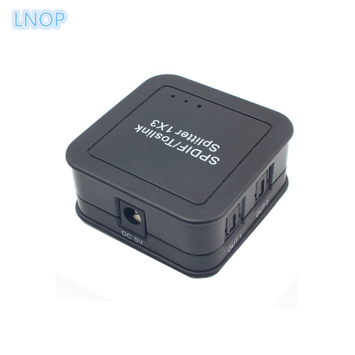Digital Optical 1x3 1 Input 3 Output Audio Splitter Adapter Mini SPDIF TOSLINK Fiber Divider for Amplifier 1080p