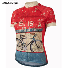 2018 cycling jersey women pro team Cycling Wear Soft red blue white Bicycle Clothes Cycling Clothing cycling bike wear(China)