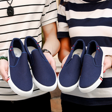 BVNOBET Cheaper Canvas Shoes Unisex Sneakers Breathable Slip-On Mens C