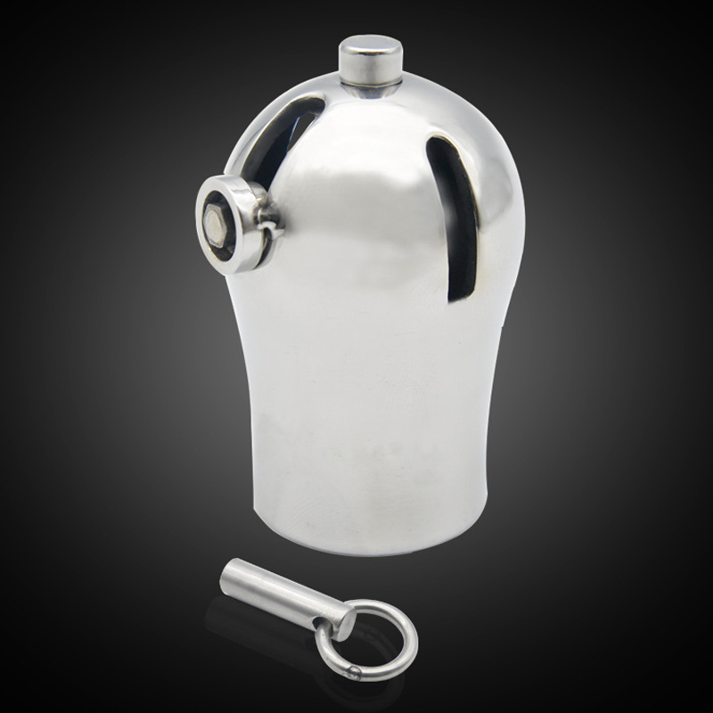 PA locks puncture male chastity device titanium metal cock cage CB6000 penis sleeve cover sex toys for men cbt bdsm bondagePA locks puncture male chastity device titanium metal cock cage CB6000 penis sleeve cover sex toys for men cbt bdsm bondage