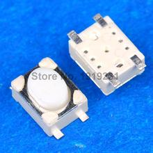 10PCS Micro Push Button 3X4X2.5 4feet (SHORT) SMT Tact Switch Mounting For Car System/Cigarette Tool