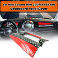 JCW Style Dashboard Panel Trim Cover Housing For 2014~ MINI Cooper F56 F55