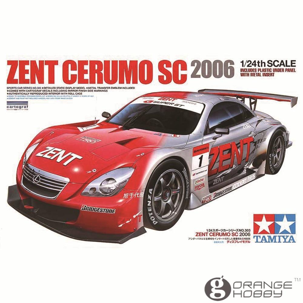 Охи 24303 Тамия 1/24 Зент Cerumo SC в 2006 масштаб Ассамблеи модель строительство комплекты о
