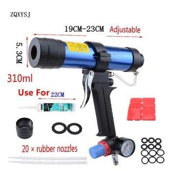 חדש 310 ml איטום אקדח 1 pc צבע & לקשט מחסנית אקדח פנאומטי זכוכית דבק אוויר גומי רובים כלים איטום גמר Tools1pc