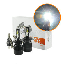 1 компл. балласты + вентиляторы + лампы 60 Вт 6400LM светодиодный фар комплект H1 H3 H4 H7 H8 H9 H11 9005 9006 9012 9004 9007 H13 автомобиля Светодиодный лампа фары