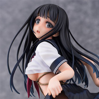 26cm Japanese girl DAIKI sexy anime figure Tied girl Sailor clothes PVC figure collection model adult toys for gift