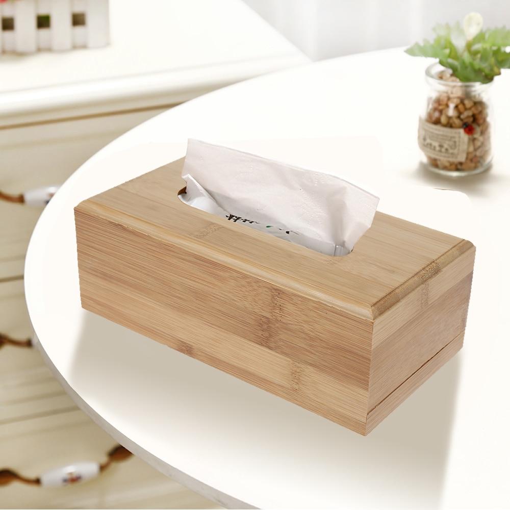 Linen Cotton Home Room Car Hotel Tissue Box Cover Paper Napkin Holder Case LC